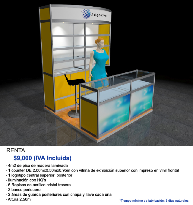 Stands In Expo : Stands para expos de sistema octanorm │stands universales